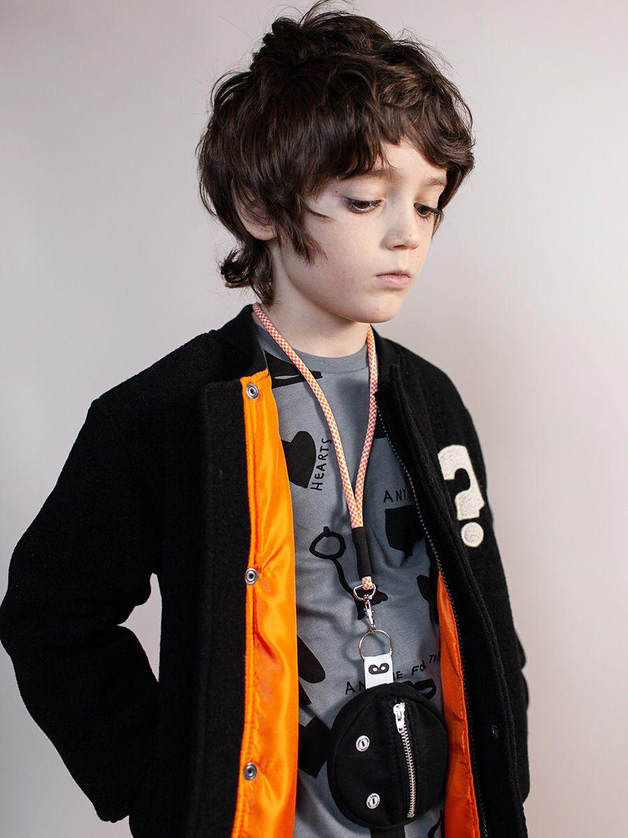 f08e7d113 Beau Loves black wool bomber jacket