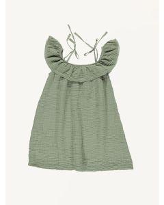 Bebe Organic khaki Birgita organic cotton dress