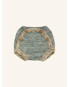 Kalinka water green Boyana wool shorts