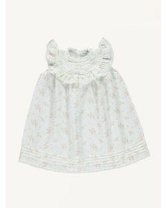 Bebe Organic floral Christina linen dress
