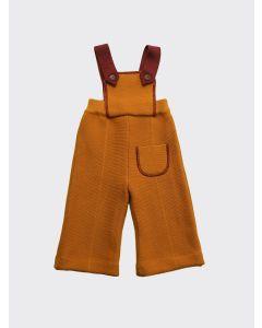 Kalinka Kids gold Dora wool overall