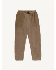 The New Society camel Ewan teddy pants