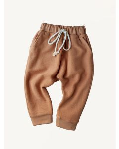 Kids of April french terry rust sunrise pants