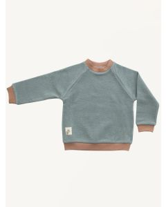 Auntie Me grey rhino organic cotton sweatshirt