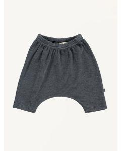 Mini Sibling charcoal grey baby pants