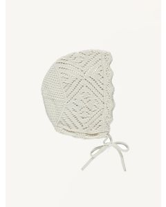 Bebe Organic natural Harmony organic cotton bonnet