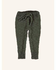 Piupiuchick khaki knitted leggings