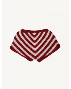 Kalinka red cherry Lara cotton shorts