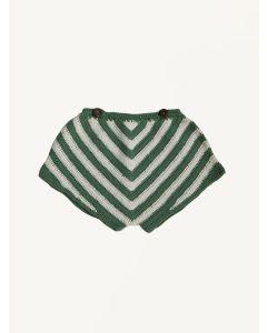 Kalinka green fern Lara cotton shorts