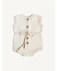 Kalinka natural Mira cotton overall