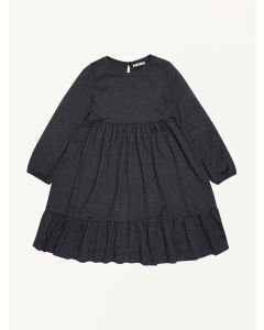 The New Society dark grey Muse cotton dress