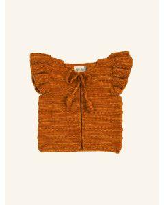 Kalinka gold Natalie wool vest