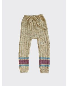 Kalinka Kids natural Ophelia wool leggings