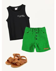 Piupiuchick shorts Beau Loves tank Donsje shoes