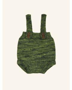 Kalinka moss green Prolet wool shorts