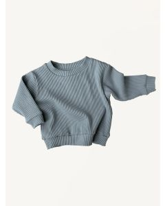 Kids of April ribbed cotton storm jumper