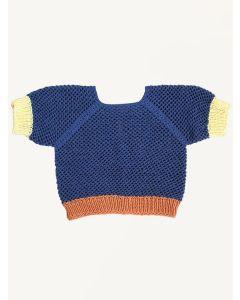 Kalinka denim Silvie cotton sweater