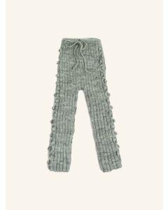 Kalinka water green Sophia wool leggings