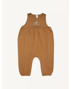 Auntie Me sudan brown Dreaming organic cotton jumpsuit