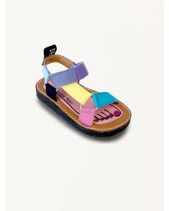 Pied Rougia multi Walkie Talkie miami sandals